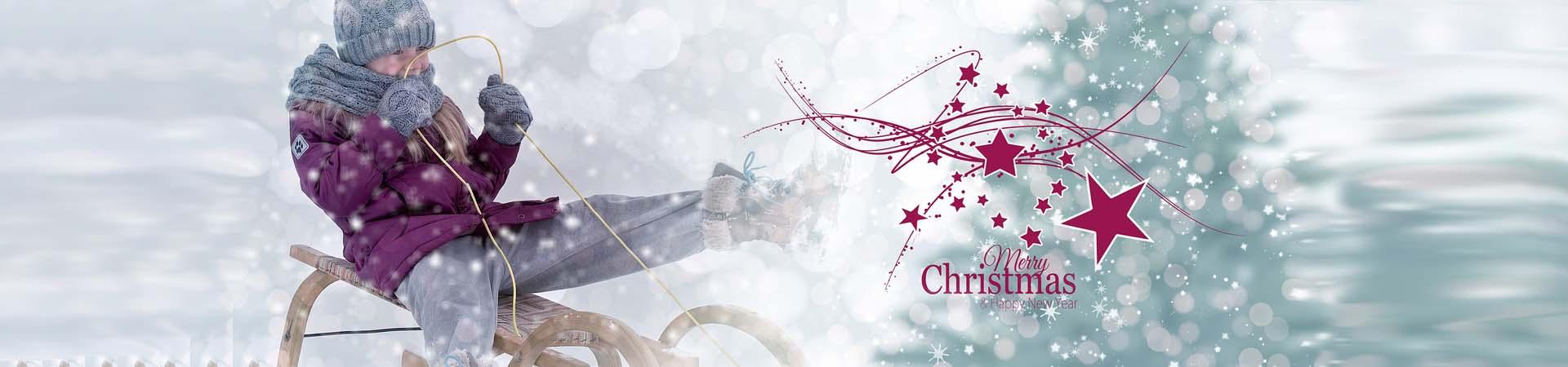 З наступаючими різдвяними і новорічними святами.